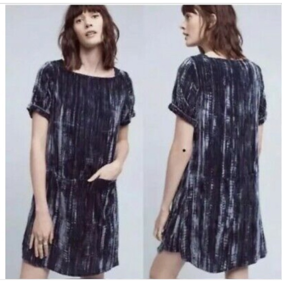 019a31a061ee Anthropologie Dresses   Floreat Crushed Velvet Dress   Poshmark